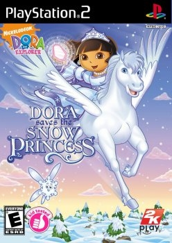 DORA THE EXPLORER: DORA SAVES THE SNOW PRINCESS (PS2)-thumb