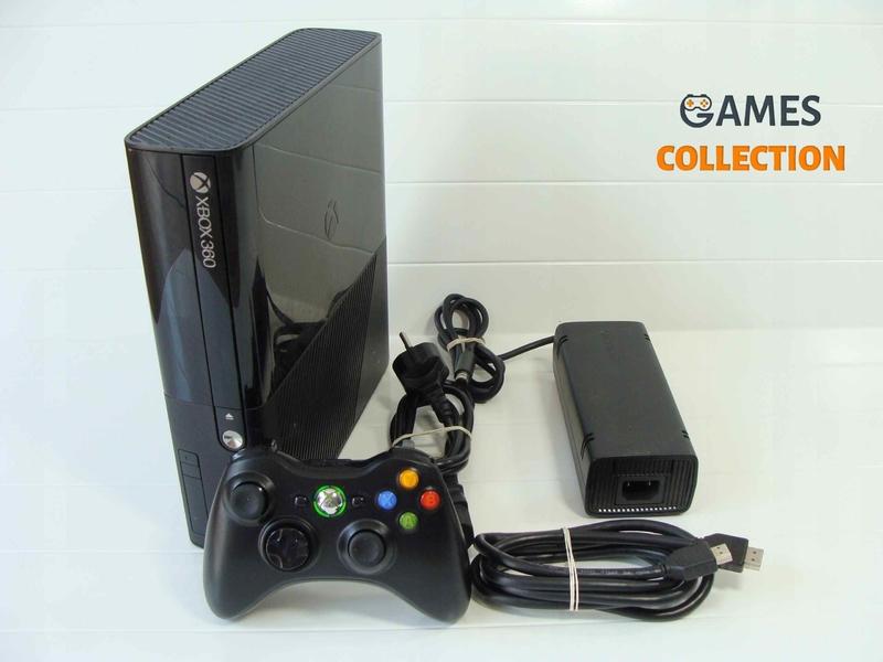 XBOX 360 E 250 GB Мульти прошивка 35 игр (Б/у)-thumb