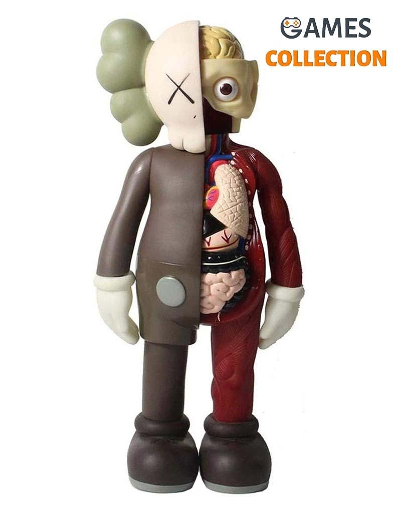 KAWS BFF Open Edition Vinyl Figure Фосфорный (35см)-thumb