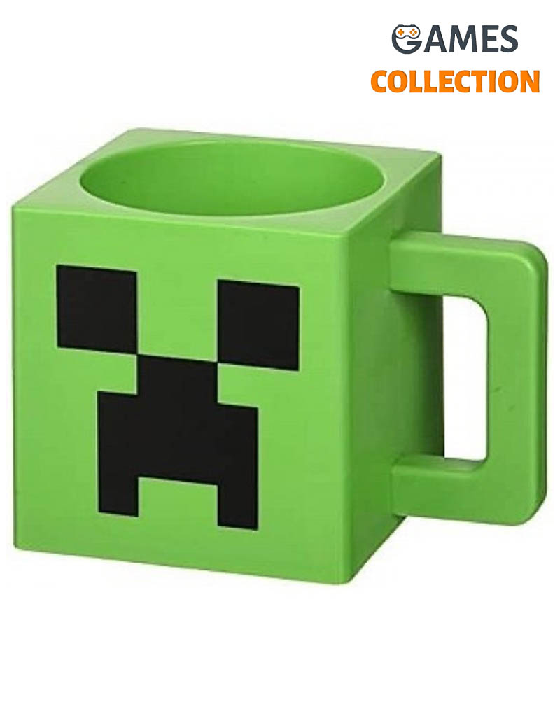 Кружка JINX Minecraft Creeper Face Plastic (290 мл)-thumb