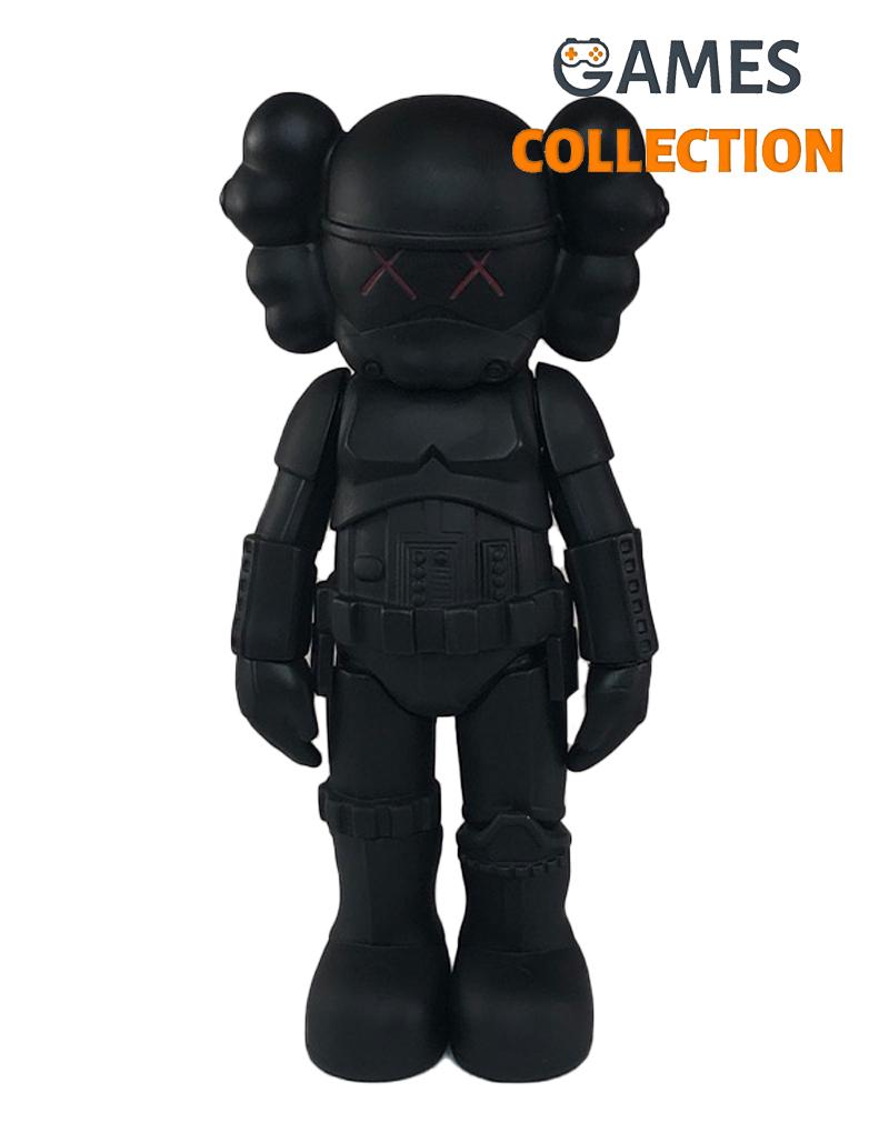 KAWS Star Wars Storm Trooper Companion black 25см-thumb