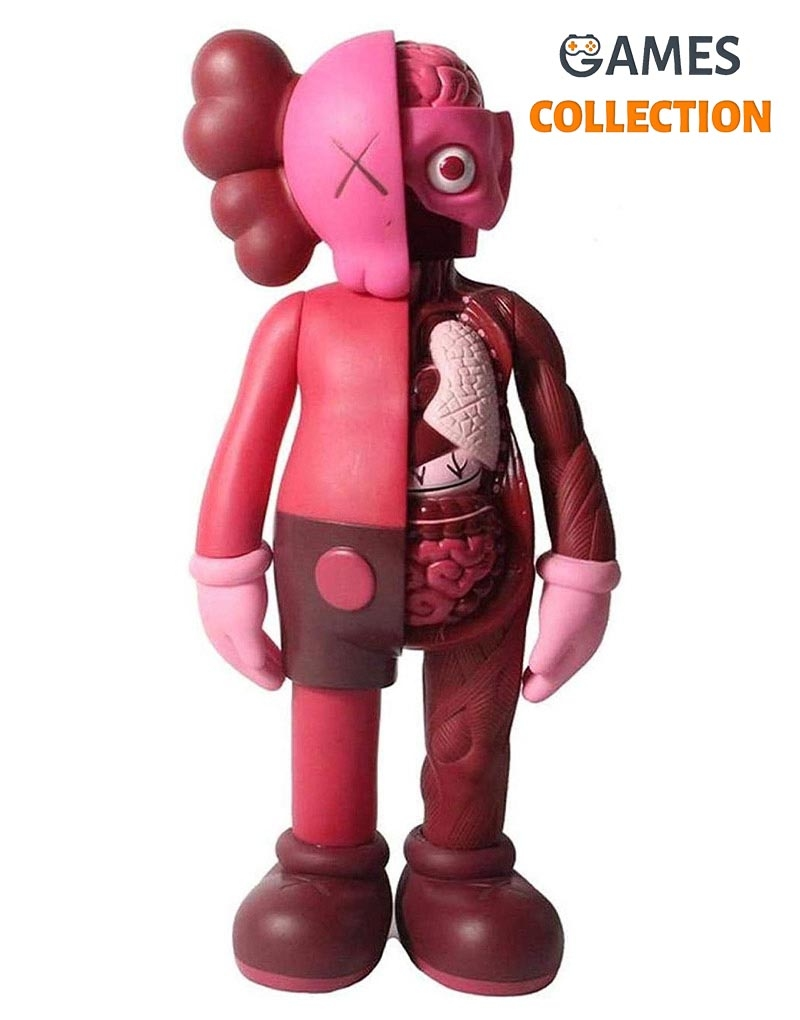 KAWS DISSECTED COMPANION Розовый 37см-thumb