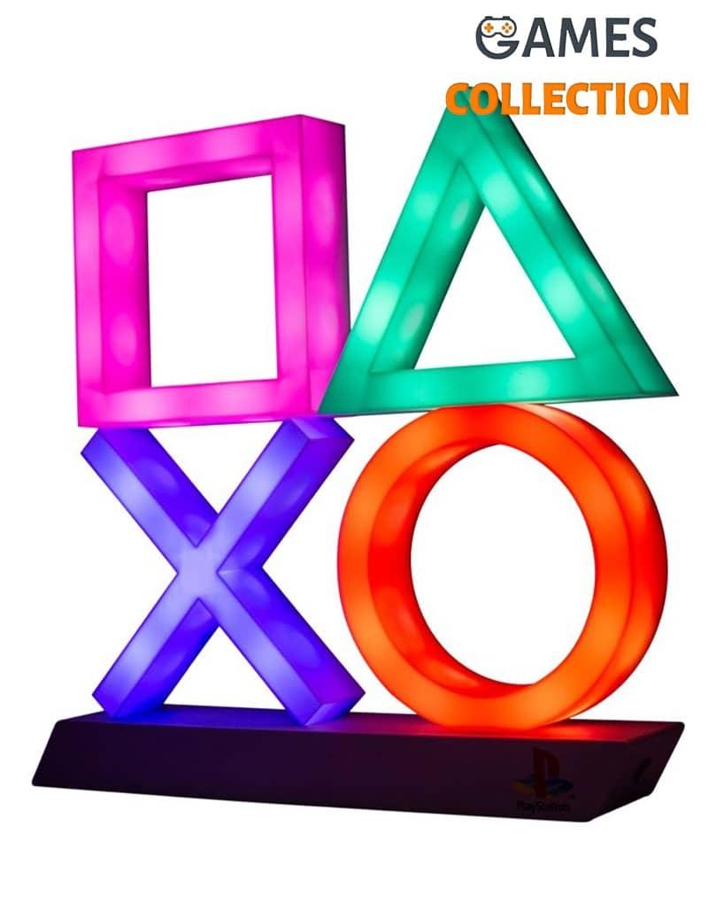Светильник-Ночник Значки Плейстейшн Playstation Icons Light XL-thumb