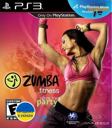 Zumba Fitness: Join the Party (PS3 Move)-thumb
