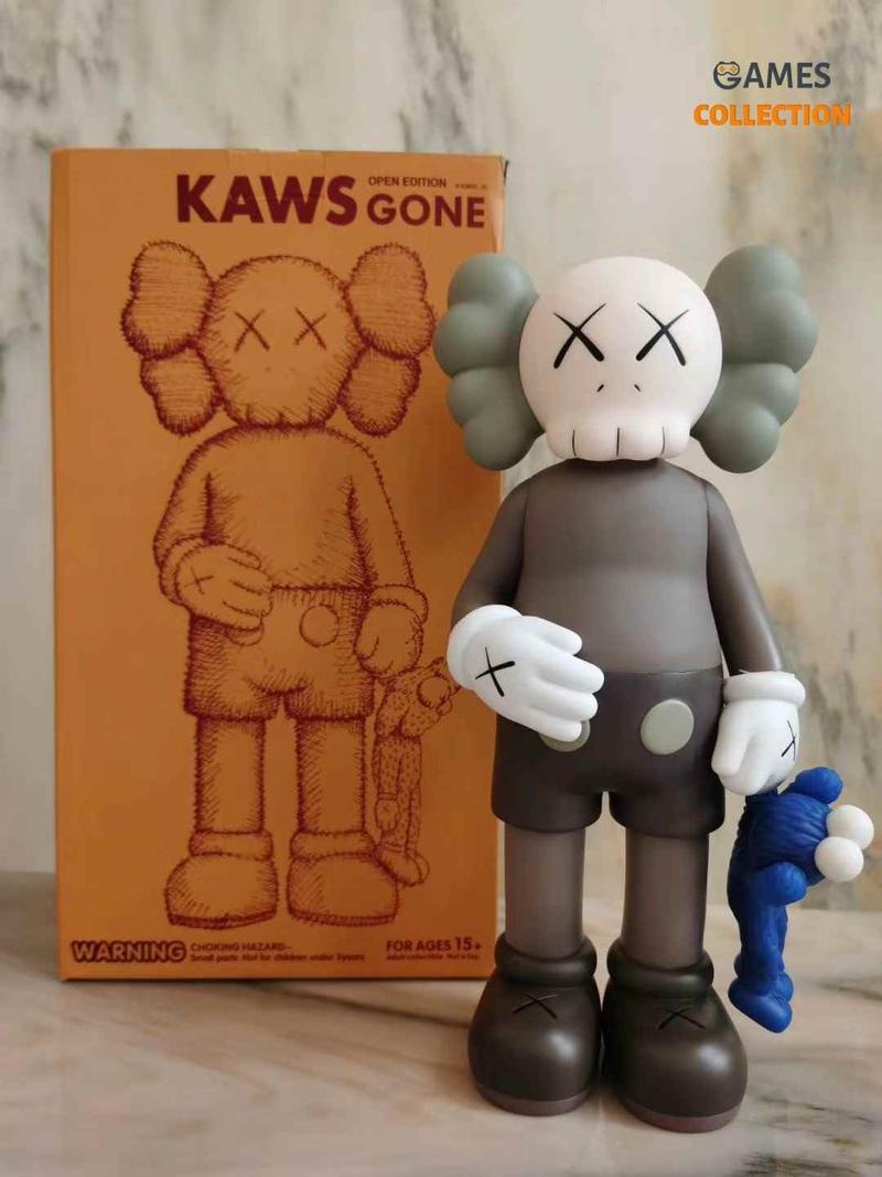 KAWS Share Vinyl Figure Brown-thumb