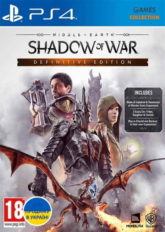 Middle-Earth: Shadow of War Definitive Edition (PS4)-thumb