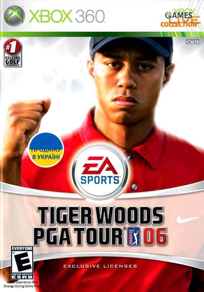 Tiger Woods PGA TOUR 06 (XBOX360) Б/у-thumb