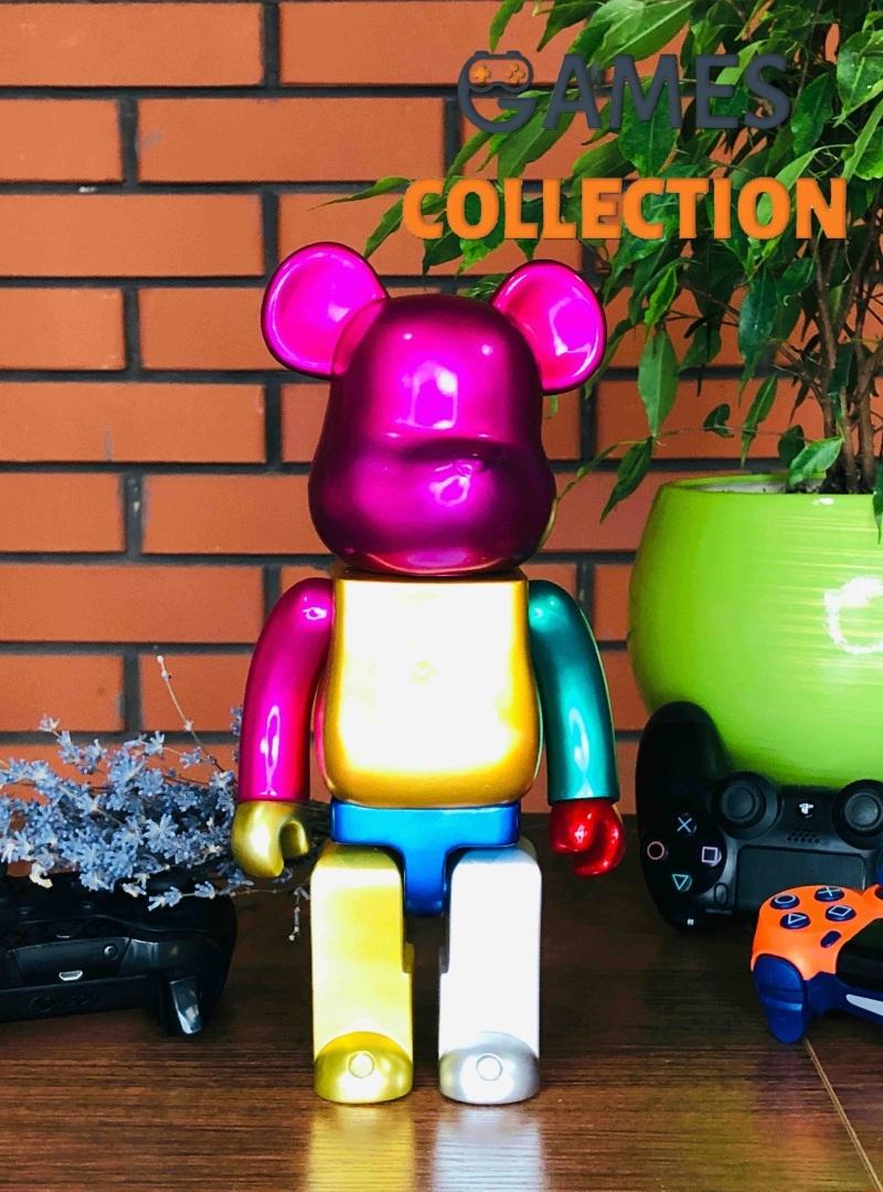 Bearbrick Multi Color Foil XXV 400% (28 см)-thumb