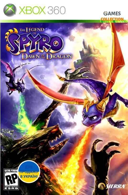 The Legend of Spyro: Dawn of the Dragon (XBOX360)-thumb