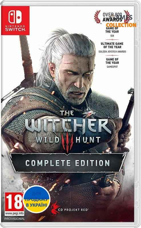 THE WITCHER 3: Complete Edition RUS (SWITCH)-thumb