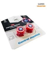 Стики для джойстика PS5/PS4 Высокие Captain America-thumb