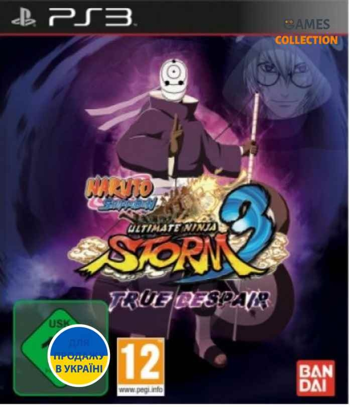 Naruto Shippuden Ultimate Ninja Storm 3: True Despair Edition (PS3)-thumb