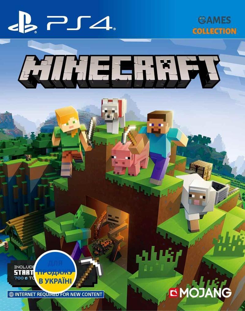Minecraft Bedrock: New Version (PS4)-thumb