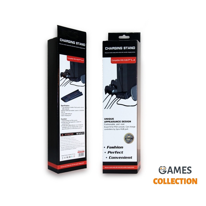 Подставка с вентилятором + Кронштейн (PS4)-thumb