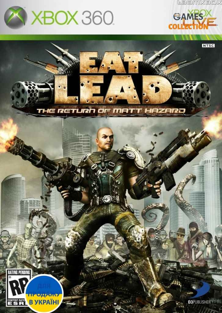 Eat Lead: The Return Of Matt Hazard (XBOX360)-thumb