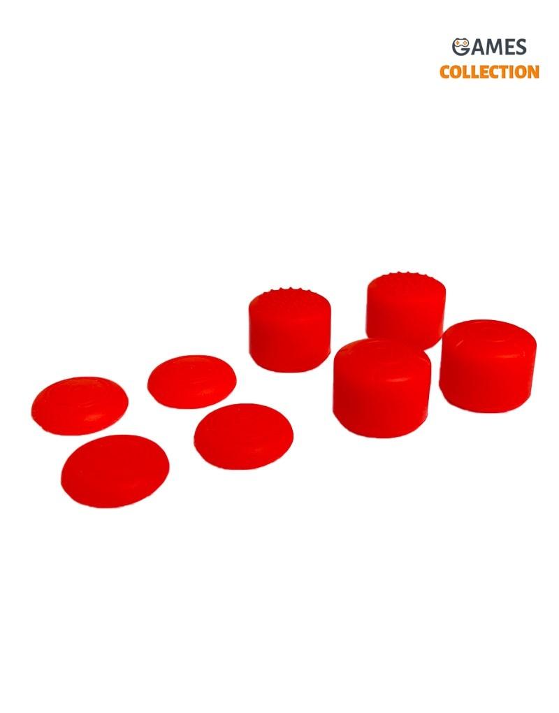 Стики для Джойстика Nintendo Switch Joy Con (Красные)-thumb