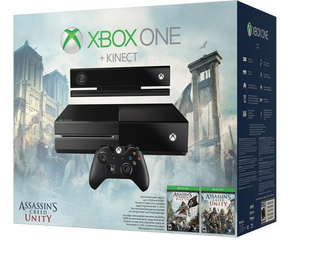 Xbox One +Kinect+Assassin`s Creed Unity +Black Flag-thumb
