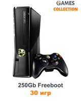 Xbox 360 Slim/E 250 Gb Freeboot + 30 Игр-thumb