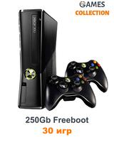 Xbox 360 Slim/E 250 Gb Freeboot 30 игр+2 Джойстик-thumb