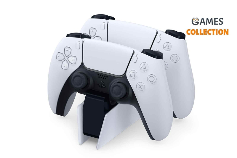 Wireless Charging Station For PS5 DualSense-thumb