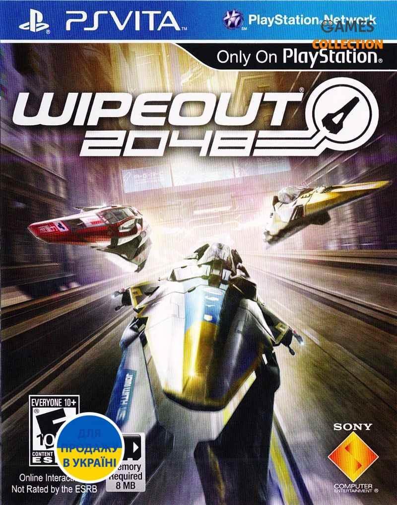 Wipeout 2048 (PS Vita) Без коробки-thumb