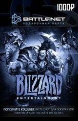 Подарочная Карта Blizzard 1000 рублей (Battle.net)-thumb