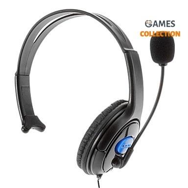 Проводная гарнитура + микрофон (PS4)-thumb