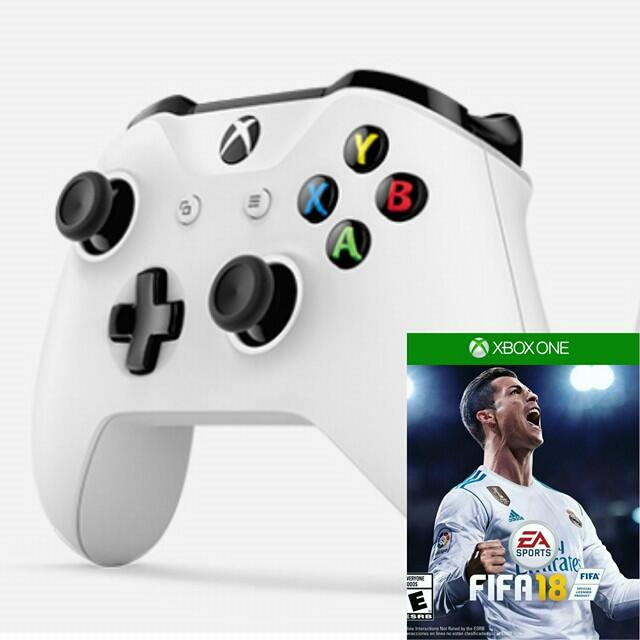 Microsoft Xbox One S Wireless Controller + FIFA18-thumb