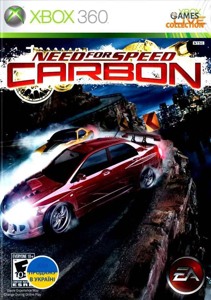 Need for Speed: Carbon (XBOX360) Б/у-thumb