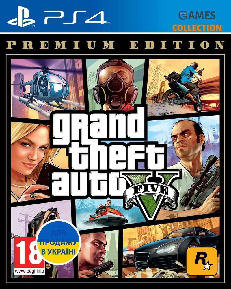 Grand Theft Auto V: Premium Edition (PS4)-thumb