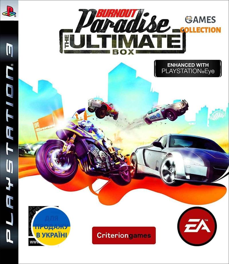Burnout Paradise: The Ultimate Box (PS3)-thumb