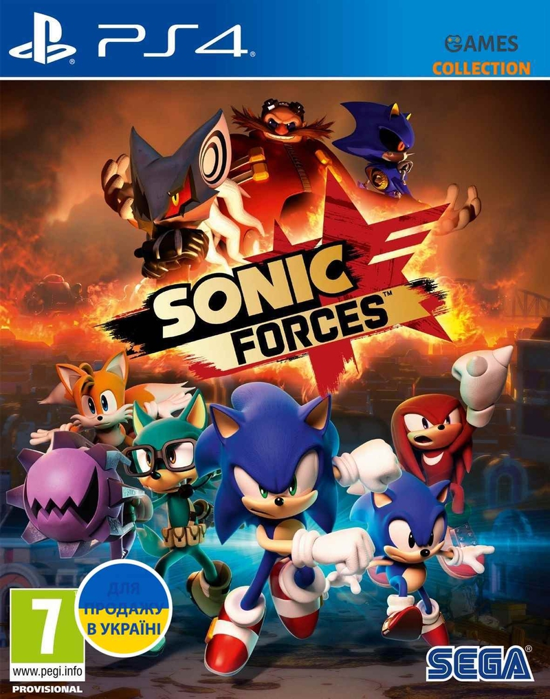 Sonic Forces (PS4)-thumb