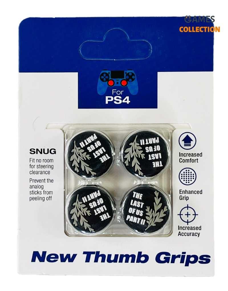Стики для джойстика PS5/PS4 Last of us II White (Облегающие)-thumb