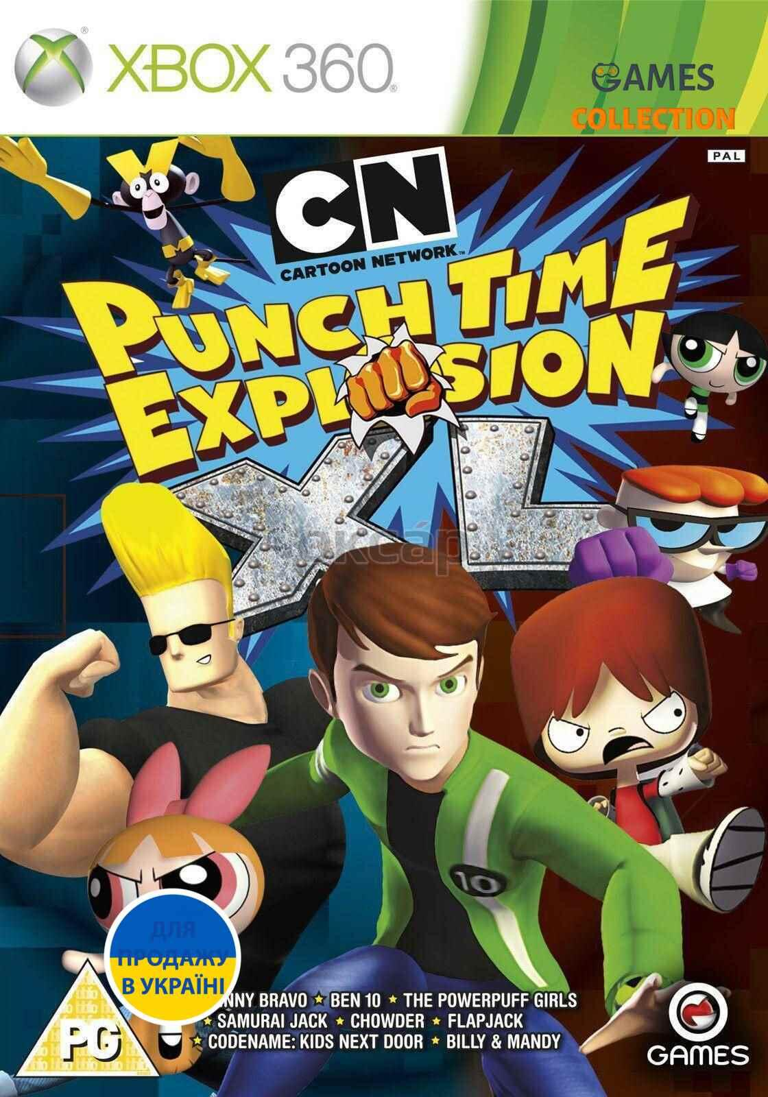 Cartoon Network Punch Time Explosion XL(XBOX360)-thumb