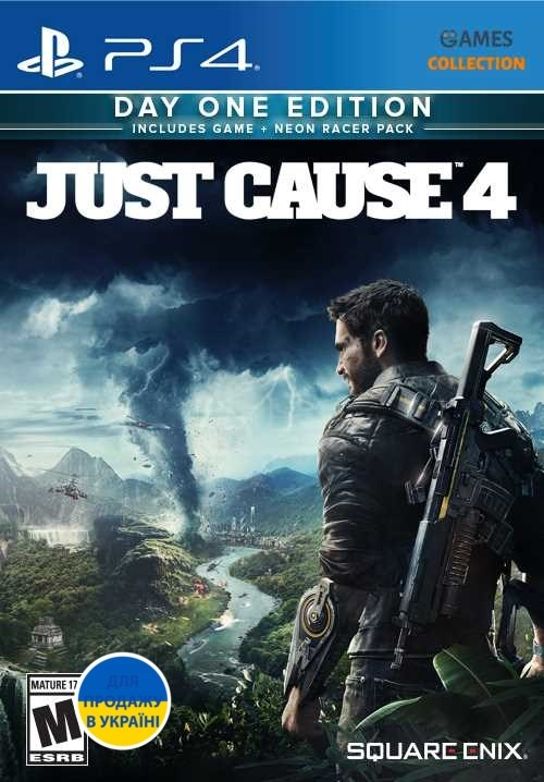 Just Cause 4: Day One Edition (PS4)-thumb