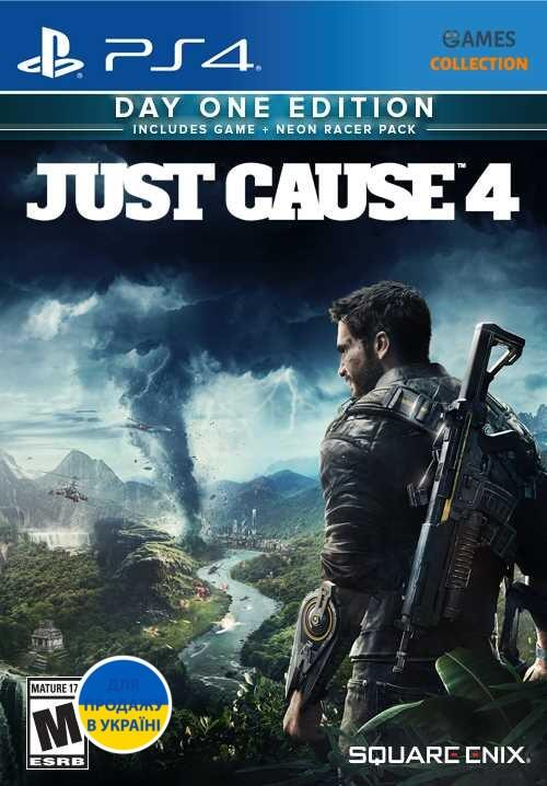 Just Cause 4: Day 1 Edition (PS4)-thumb