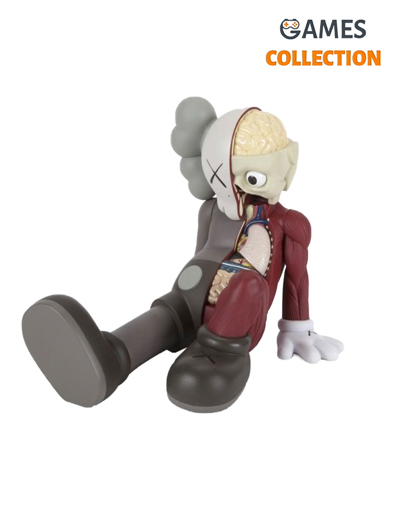 Kaws Resting Place Companion (Brown) 23см-thumb