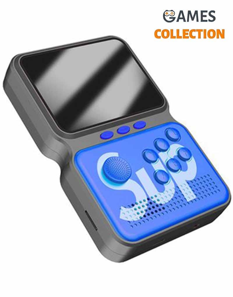 Портативная игровая приставка GAME BOX POWER M3 800 in 1 (Синяя)-thumb