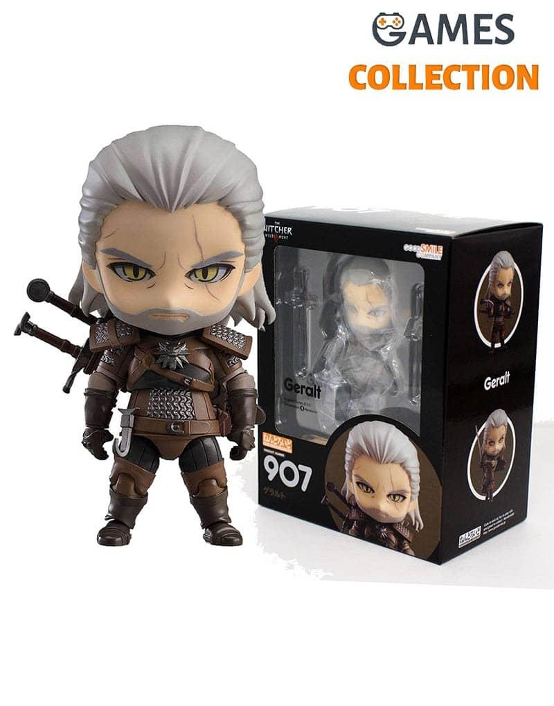 Фигурка Ведьмак 3: Дикая Охота – Геральт (The Witcher 3: Wild Hunt: Geralt Nendoroid Action Figure 907)-thumb