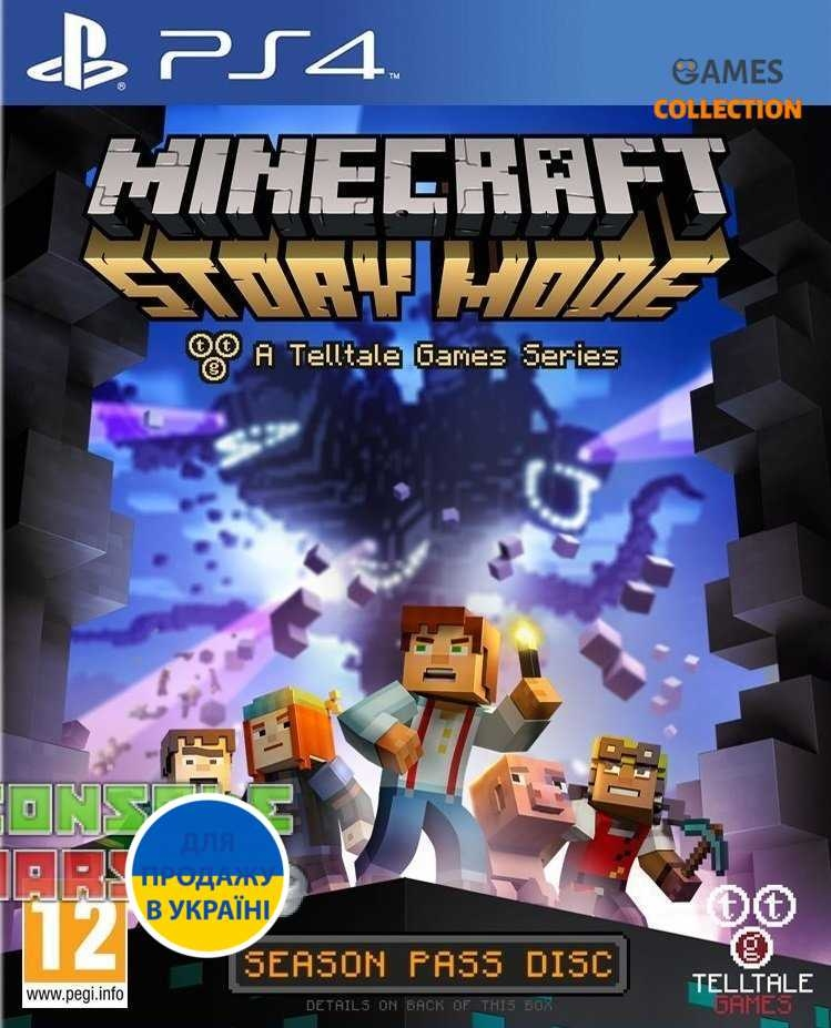 Minecraft: Story Mode (PS4)-thumb
