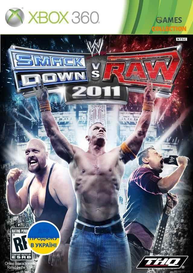 WWE Smackdown vs Raw 2011 (XBOX360) Б/У-thumb