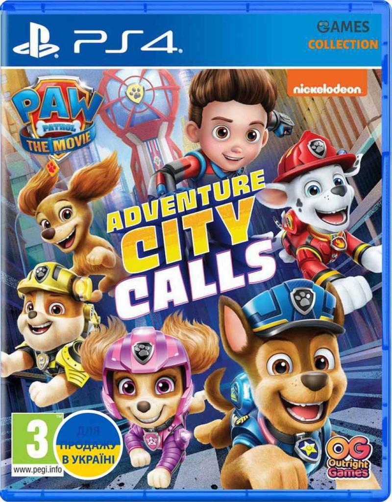 PAW Patrol The Movie: Adventure City Calls (PS4)-thumb