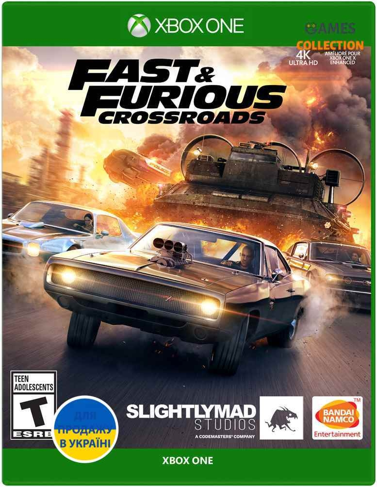 Fast & Furious: Crossroads (XBox One)-thumb