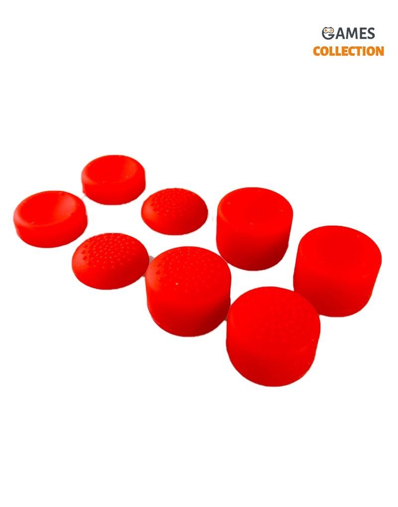 Стики для Джойстика Универсальные PS5/PS4 Красные-thumb