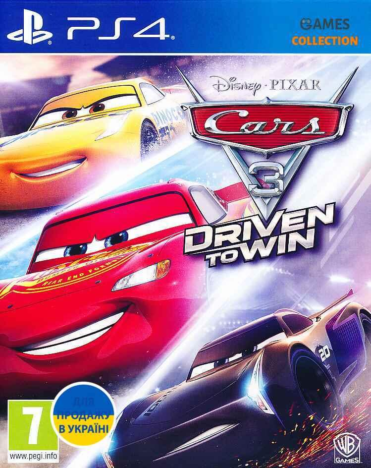 Cars 3 – Driven to Win (PS4)-thumb