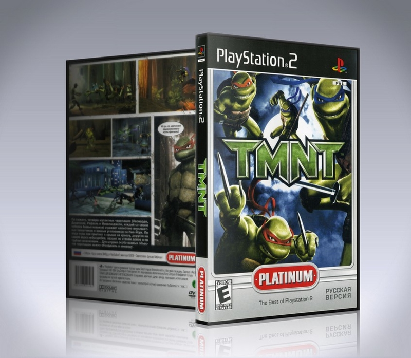 TMNT (TEENAGE MUTANT NINJA TURTLES) PS2-thumb