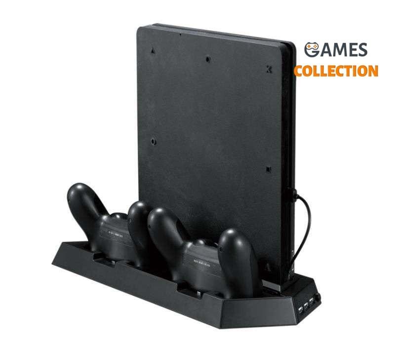PS4 SLIM кронштейн приставки 2в1-thumb