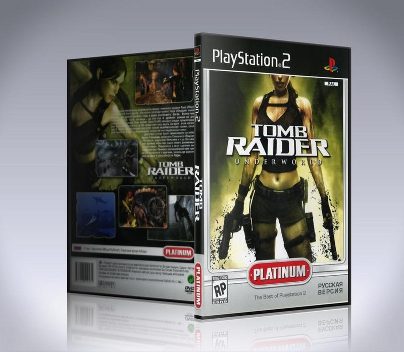 Tomb Raider: Underworld PS2-thumb