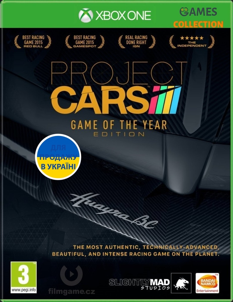 Project Cars Goty Edition (XBox One)-thumb