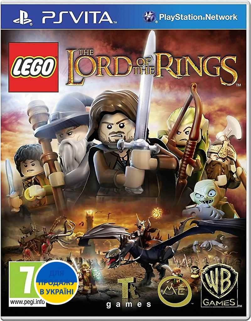 LEGO: Lord of the Rings (PSVita) (Русские субтитры)-thumb